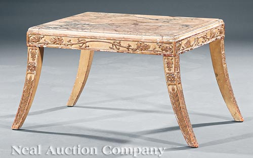 Regency-Style Low Table