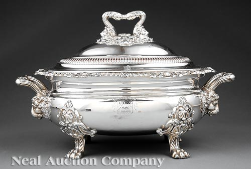 Covered Tureen, Matthew Boulton