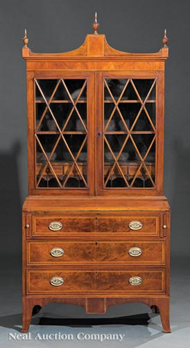 Late Federal Secretary Bookcase