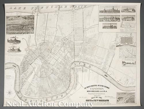 [New Orleans Exposition Map]