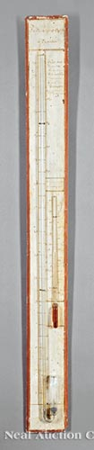 Louis Philippe Painted Stick Barometer