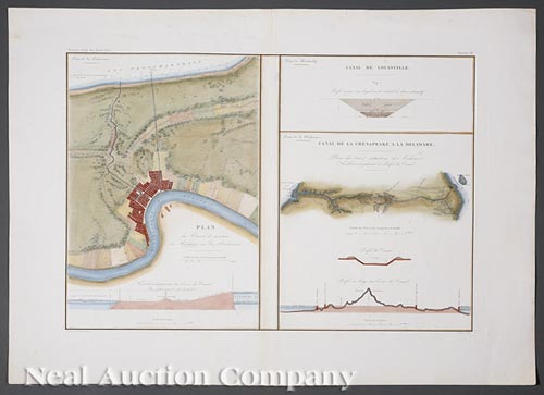 [Map of New Orleans Canal]