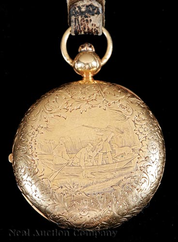 18K Gold Presentation Pocketwatch