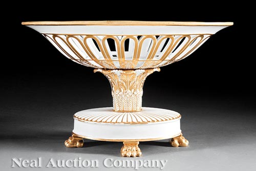 Centerpiece Corbeille, marked