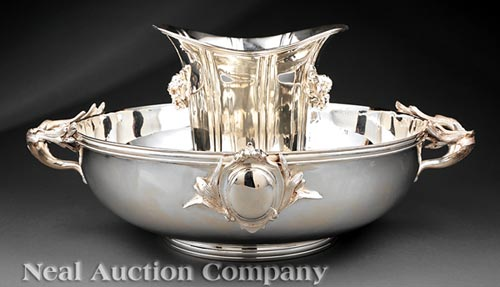 Silverplate Champagne Bucket and Ice Bucket