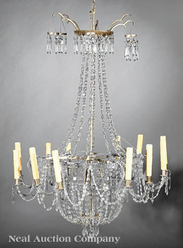 Neoclassical-Style Chandelier