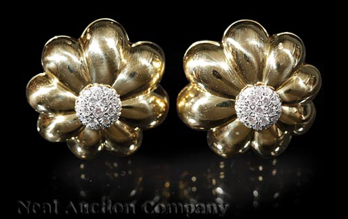 Pair of Sabbadini Earrings
