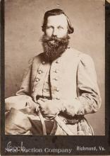 Cabinet Card of Confederate General Jeb Stuart