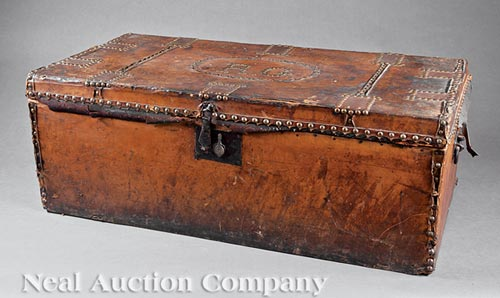 American Leather Trunk