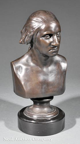 Bronze Bust of George Washington