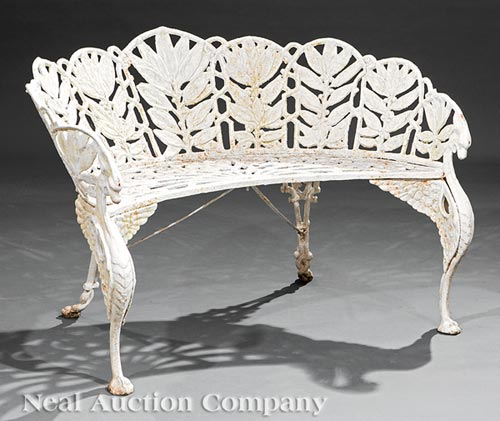 American Cast Iron Laurel Garden Furniture