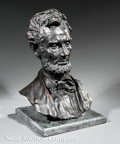 Bronze Bust of Abraham Lincoln