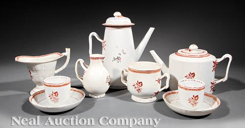 Chinese Export Partial Tea and Coffee Service