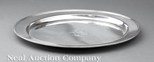 American Sterling Silver Tray, Whiting