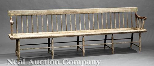 Shaker Meetinghouse Bench