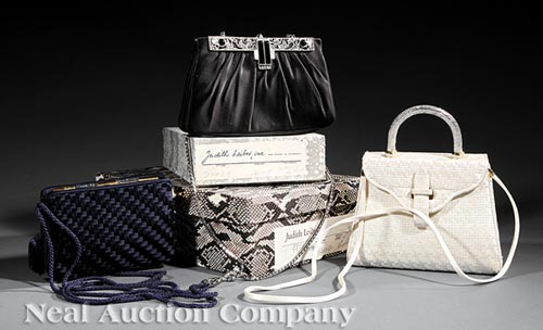 Three Vintage Judith Leiber Handbags
