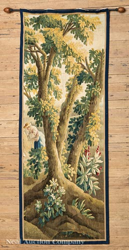 French Aubusson-Style Verdure Tapestry