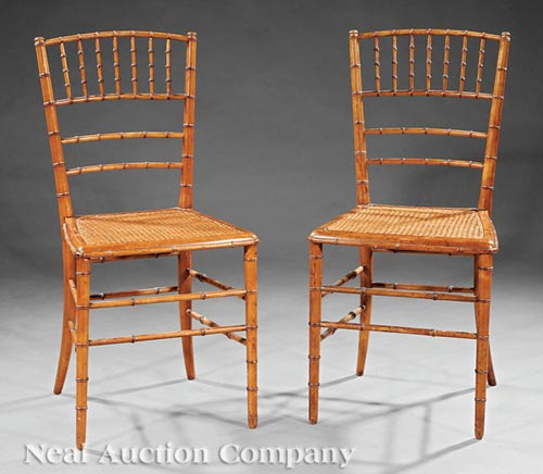 Pair of Antique Elm Windsor Chairs