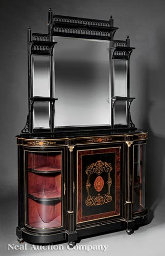 English Aesthetic Parlor Cabinet