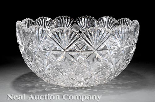 Waterford Cut Crystal Punch Bowl