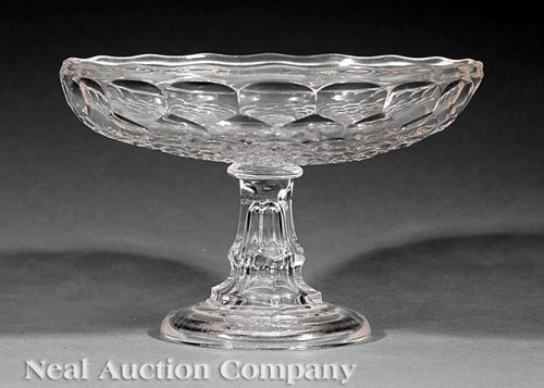 American Flint Glass Compote