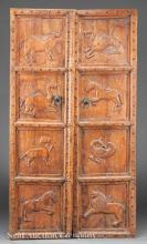 Carved Doors of Archaic Inspiratiration