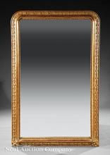 Louis Philippe Carved Giltwood Overmantel Mirror