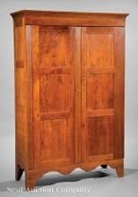 Lower Mississippi River Valley Cherrywood Armoire