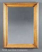 Antique American Giltwood Looking Glass