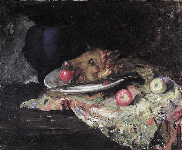 """""""Still life: The Remains of the Portfolio Club Supper"""""""