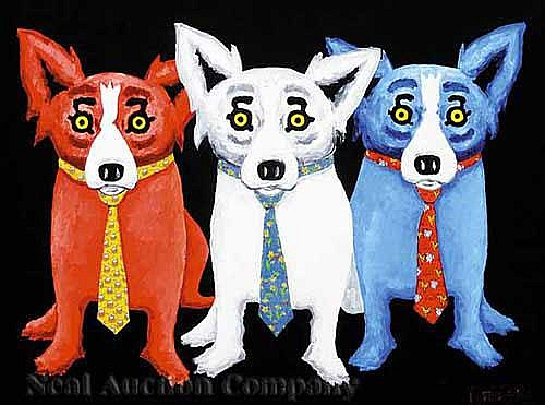 George Rodrigue (American/Louisiana, b. 1944) ,