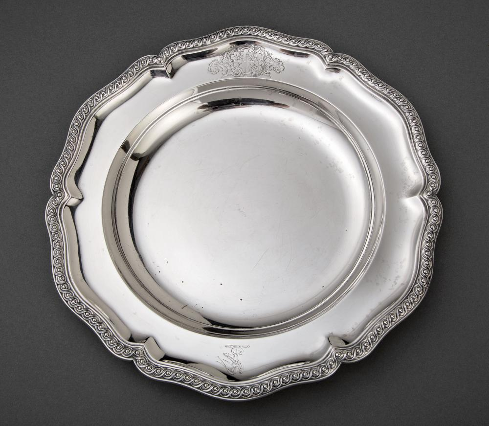 Robert Hennell IV Sterling Silver Soup Plate
