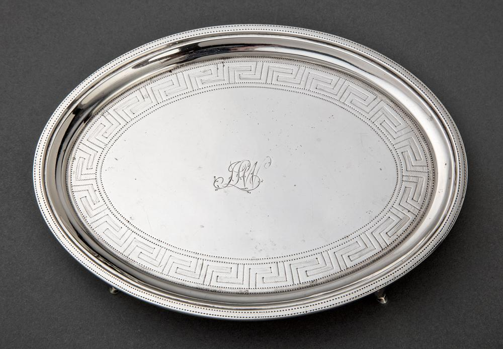 George III Sterling Silver Teapot Stand