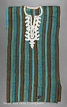 African Turquoise, Yellow and Black Tunic