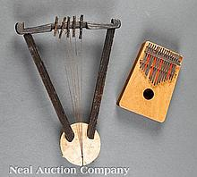Two African Musical Instruments