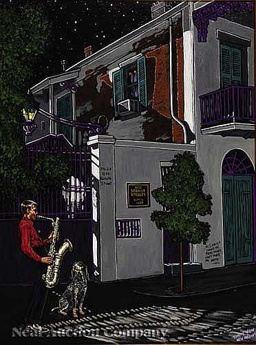 Tommy Yow (American/New Orleans, 20th c.)