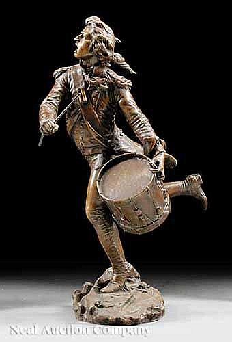 An Antique French Bronze of a Revolutionary