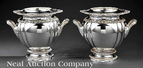 Royal Castle Silverplate Champagne Buckets