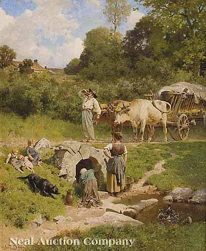 Jules Didier (French, 1831-1892), ³Farmer with