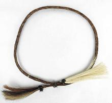 Native American Woven Horse Hair Necklace