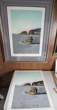 (2) Salvador Dali Lady and the Page Lithographs