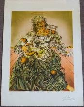 Salvador Dali Triumphant Madonna Lithograph