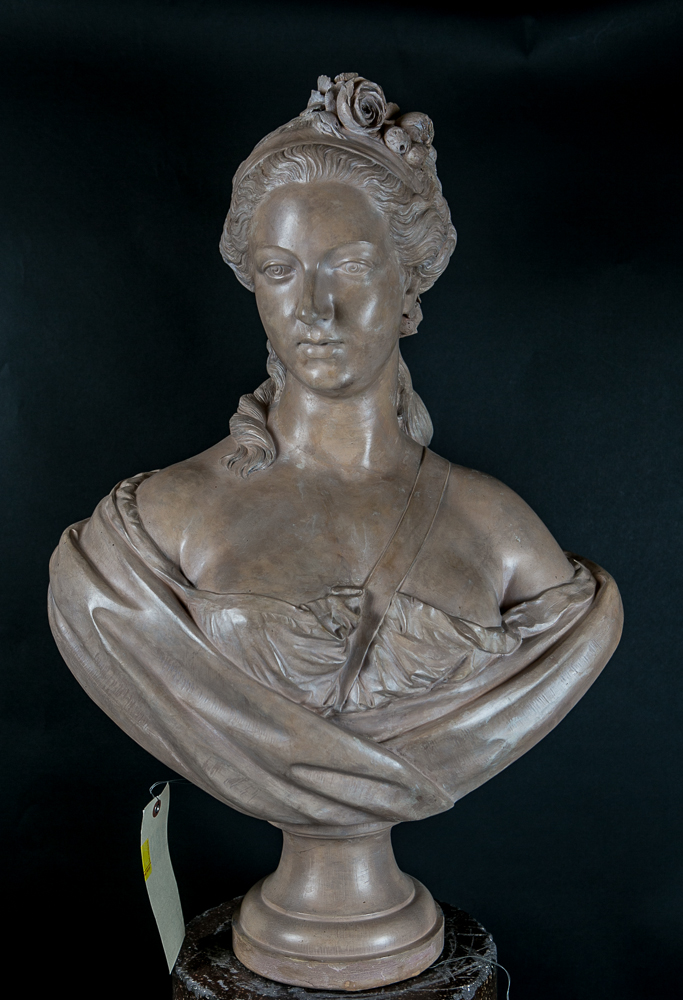 Terracotta Bust of Queen Marie Antoinette