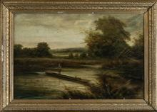 19th Century English School Oil Painting