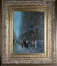 French Impressionist Pencke Oil Painting