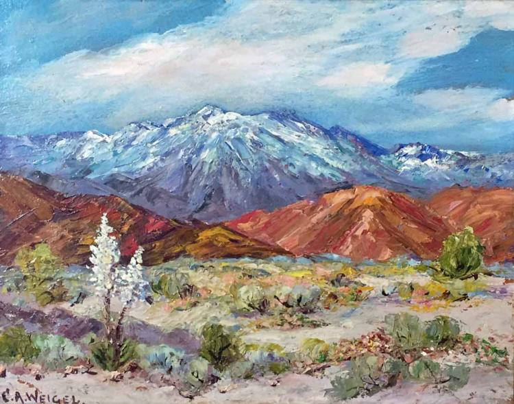 Charles Weigel, California Landscape Oil Painting