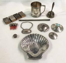 (14) Pieces Miscellaneous Sterling Silver