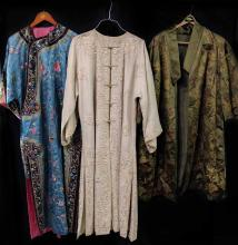 (3) Chinese Silk Robes