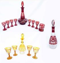 19th Century Bohemian Glass