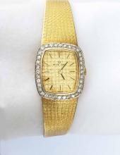 Ladies Gold Wrist Watch